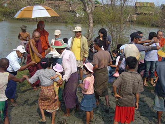 写真提供:仏教救援会提供