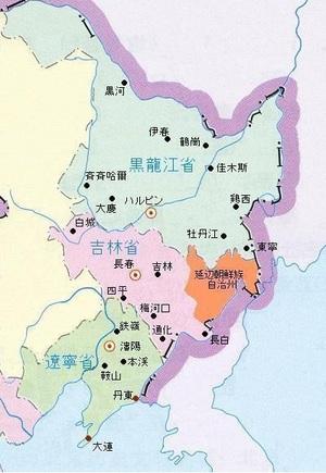 朝鮮自治州の地図(朝鮮族ネット).jpgのサムネール画像
