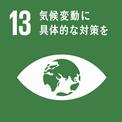 SDGs13のロゴ