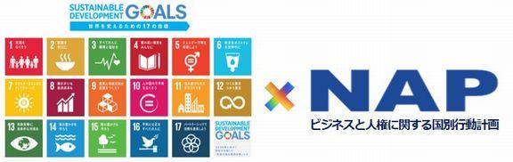 SDGsのロゴなど